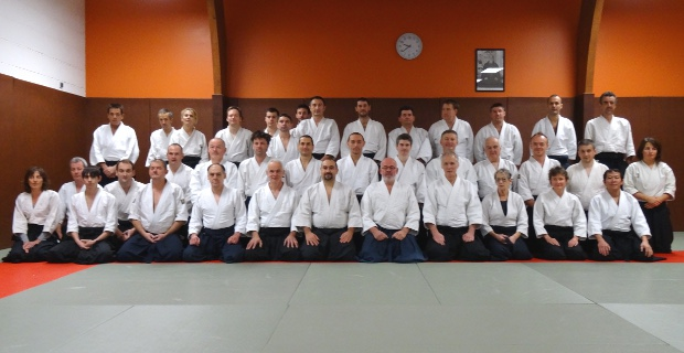 Aikido stage préparation passage de grades Guingamp novembre 2015