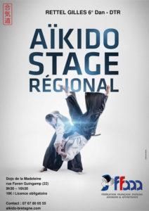 Stage de Ligue Aikido 30 septembre 2018 @ Espace de la Madeleine | Guingamp | Bretagne | France