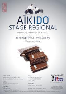 Stage de Formation à l'évaluation initiale Aïkido 20 janvier 2019 @ gymnase universitaire | Brest | Bretagne | France