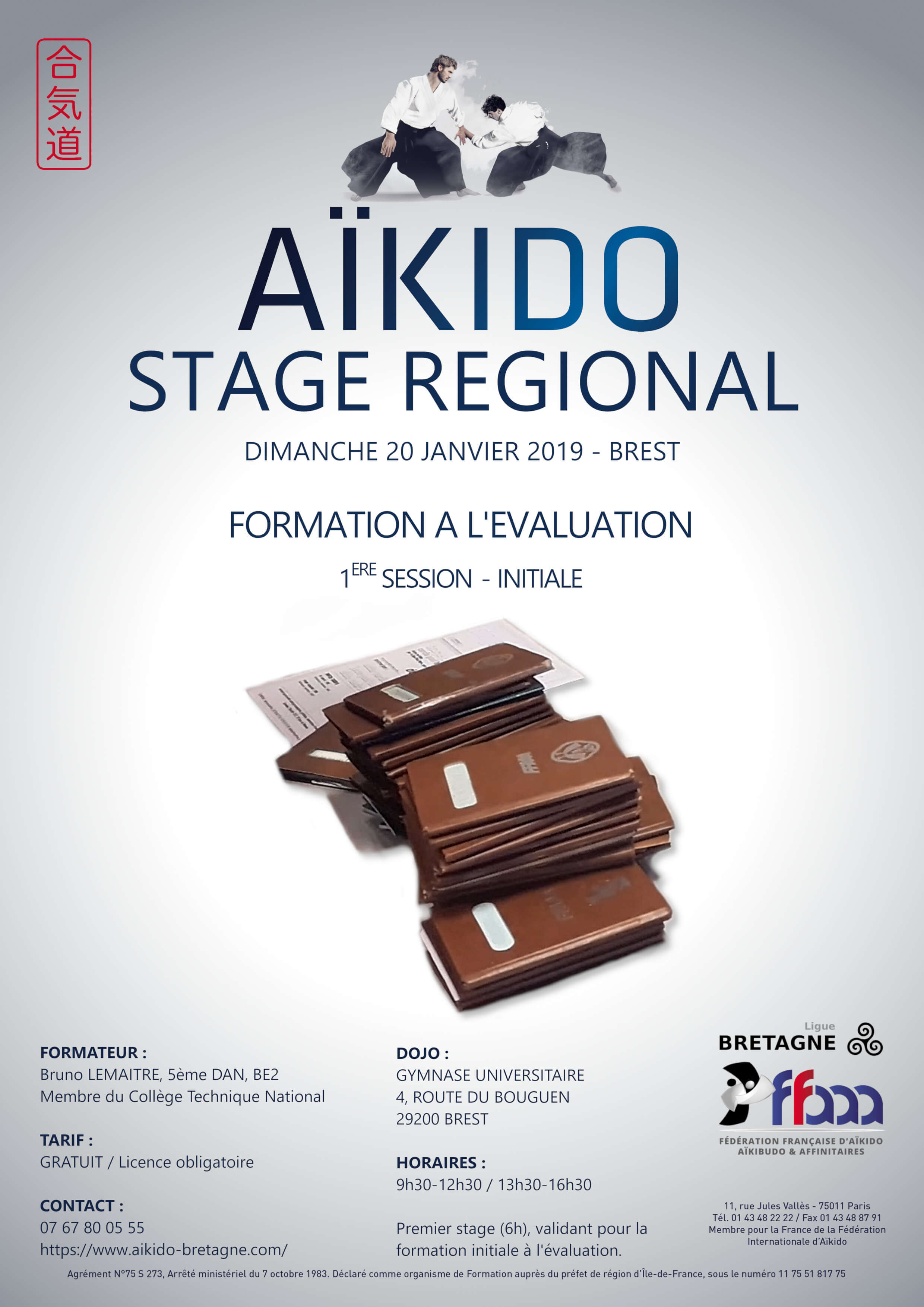 stage de formation l 39 valuation initiale a kido 20 janvier 2019 a kido bretagne ligue ffaaa. Black Bedroom Furniture Sets. Home Design Ideas