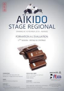 Stage de Formation à l'évaluation initiale et continue Aïkido 10 février 2019 @ cercle paul bert | Rennes | Bretagne | France