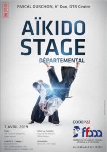 Stage Départemental Codep22 Aïkido 7 avril 2019 @ Dojo de Plurien | Plurien | Bretagne | France