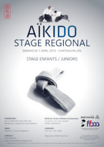 Stage Enfants/Juniors Aïkido 7 avril 2019 @ Le Germoir, lieu-dit Coatigoff | Chateaulin | Bretagne | France