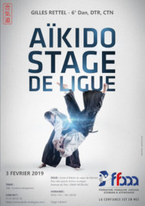 Stage de Ligue Aikido 3 février 2019 @ Parc des sports Arthur Auregan | Morlaix | Bretagne | France