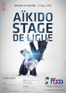 Stage de Ligue Aïkido 5 mai 2019 @ Salles des Arts Martiaux | Quimperlé | Bretagne | France