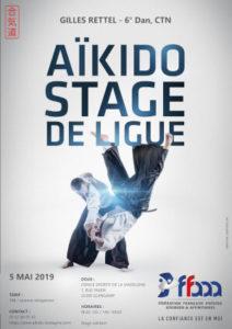 Stage de Ligue Aïkido 5 mai 2019 @ Dojo Sportif de la Madeleine | Quimperlé | Bretagne | France