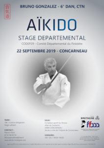 Stage Départemental Codep29 Aïkido 22 sept 2019 @ Complexe sportif du Porzou | Rennes | Bretagne | France