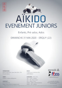 Événement juniors Aïkido 31 mai 2020 @ Quimperlé | Bretagne | France