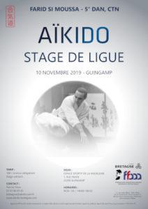 Stage de Ligue Aïkido 10 novembre 2019 @ Espace Sportif de la Madeleine | Quimperlé | Bretagne | France