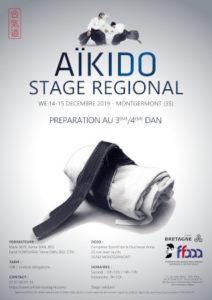 Stage Préparation 3-4 Dan Aïkido 14-15 décembre 2019 @ Complexe sportif de la Duchesse Anne | Guingamp | Bretagne | France