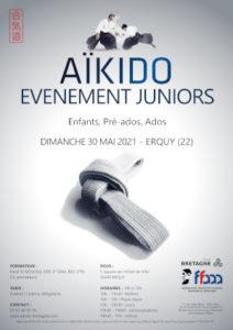 Événement juniors Aïkido 30 mai 2021 @ Quimperlé | Bretagne | France