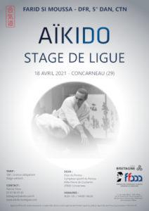 Stage de Ligue Aïkido 18 avril 2021 @ Dojo du Porzou - Complexe sportif du Porzou | Quimperlé | Bretagne | France