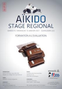 Stage de Formation à l'évaluation Aïkido 9-10 janvier 2021 @ Complexe Sportif de Guerledan | Rennes | Bretagne | France