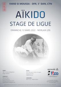 Stage de Ligue Aïkido 13 mars 2022 @ Parc des sports Arthur Aurégan | Quimperlé | Bretagne | France