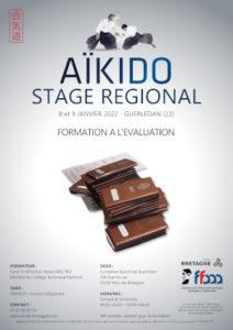 Stage de Formation à l'évaluation Aïkido 8-9 janvier 2022 @ Complexe Sportif de Guerledan | Rennes | Bretagne | France